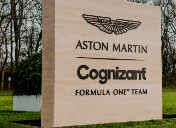 Sede da equipe fica em Silverstone, na Inglaterra. Foto: Divulgação/Aston Martin