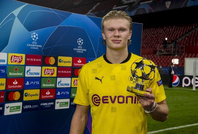 Norueguês vive grande fase pelo Borussia Dortmund. Foto: Divulgação/Borussia Dortmund