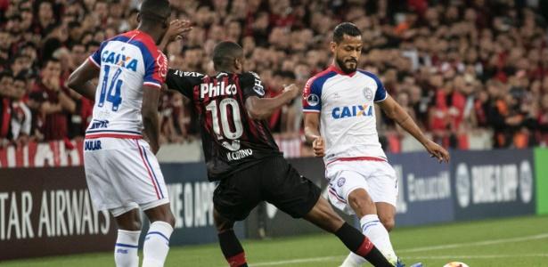 Ainda houve um gol anulado para o Bahia aos 17 da etapa inicial