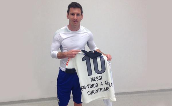 Obrigado, Corinthians, o nome mais bonito de todos os times do mundo! Foto: Reprodução