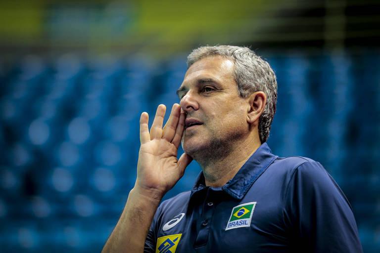A seleção é treinada por José Roberto Guimarães. Foto: Leandro Martins/Mpix/CBV