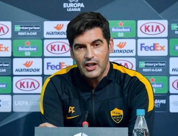 Paulo Fonseca, técnico da equipe italiana. Foto: Divulgação/Roma