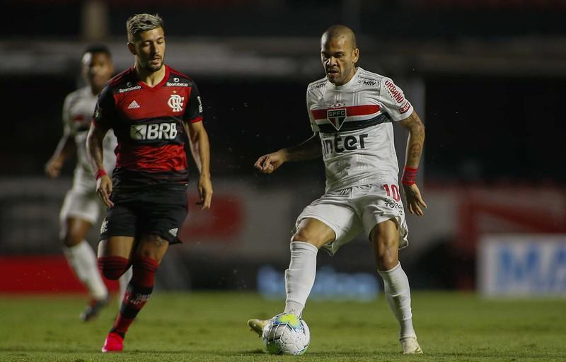 Mengão leva o título Brasileiro caso vença o Tricolor. Foto: Rubens Chiri/saopaulofc.net