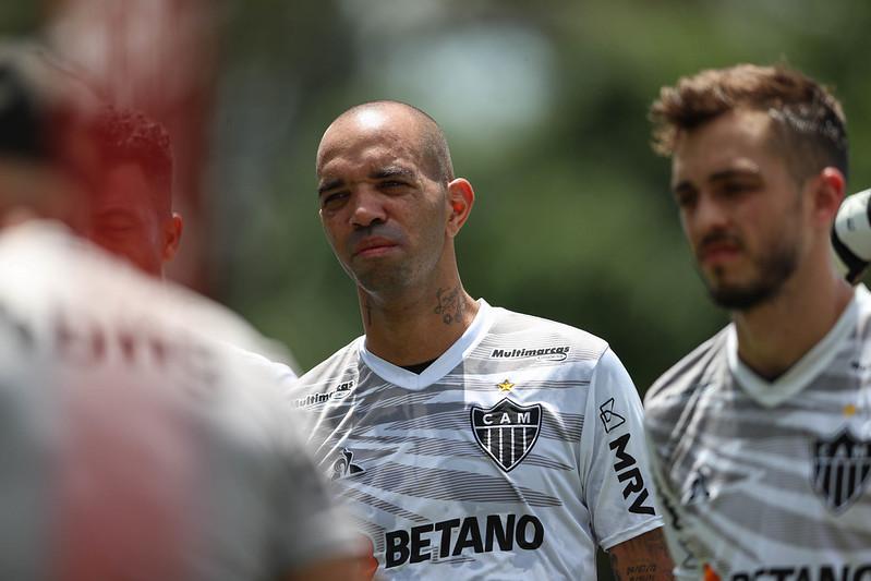Atacante tem contrato se encerrando ao fim do Brasileiro com o Galo. Foto: Pedro Souza/Atlético
