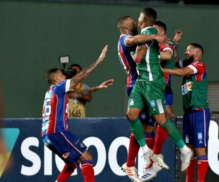 Fernandão marcou o gol da vitória do Bahia.Foto: Facebook/EC Bahia