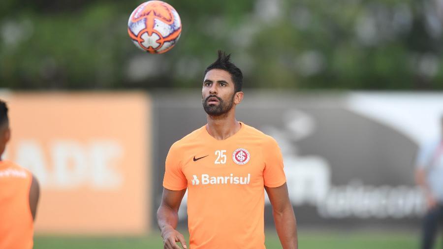 Tréllez não vem sendo aproveitado no clube do Beira-Rio. Foto: Ricardo Duarte/Internacional