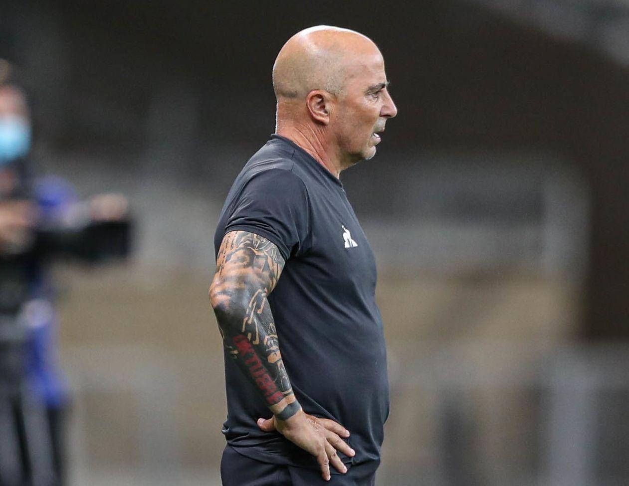 Técnico argentino deixou o Brasil após duas temporadas dirigindo Santos e Atlético. Foto: Pedro Souza/Atlético