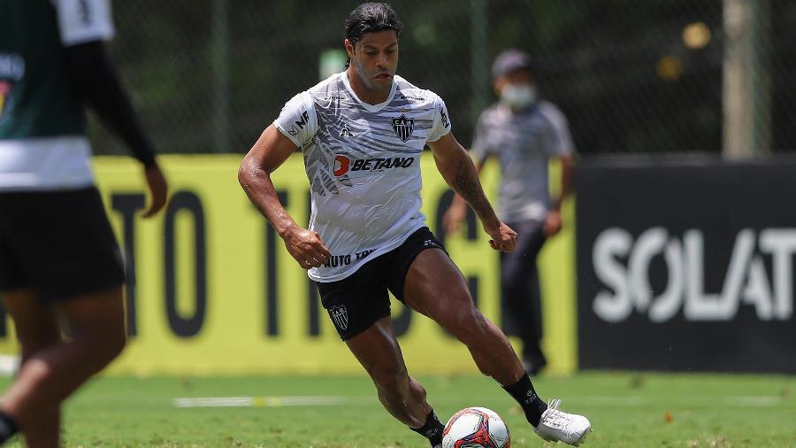 Atacante teve seu nome publicado no BID. Foto: Pedro Souza/Atlético-MG
