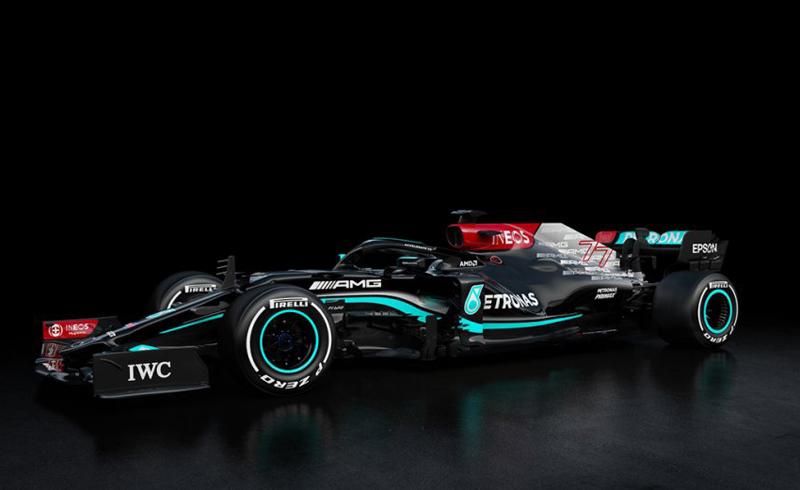 Modelo estará na pista do Bahrein para a pré-temporada da F1. Foto: Mercedes-AMG Petronas F1 Team