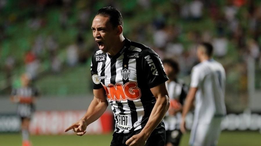 Ricardo Oliveira, hoje no Atlético-MG. Foto: Divulgação/Atlético-Mg