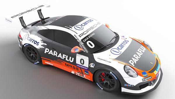 Piloto anunciou participação no Porsche Endurance. Foto: Divulgação/RF1