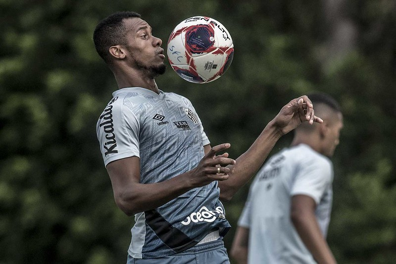 Copete finalmente poderá voltar a jogar pelo Peixe. Foto: Ivan Storti/Santos FC