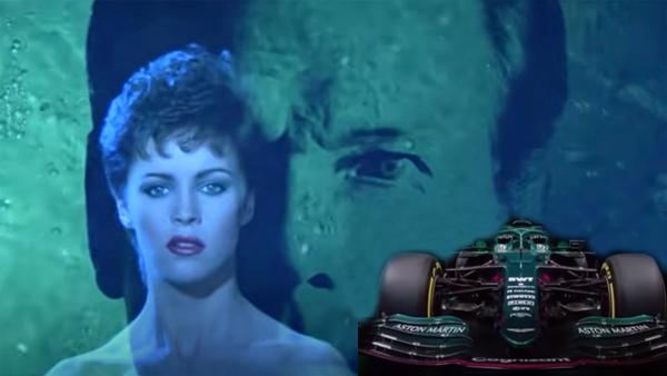 Sheena Easton, Roger More e um carro de Fórmula 1