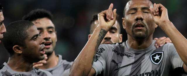 O Botafogo está na 16ª colocação do Brasileiro, com 23 pontos