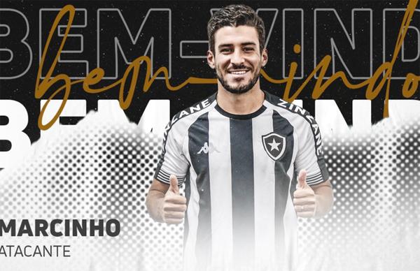 Marcinho, de 25 anos é o novo reforço do Alvinegro Carioca. Divulgação