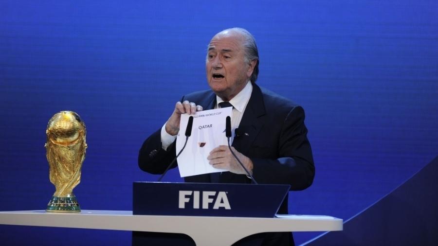 O caso aberto nos EUA levou à queda de Joseph Blatter. Foto: AFP