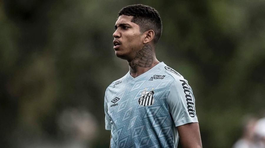 Raniel está há cinco meses sem jogar. Foto: Ivan Storti/Santos FC