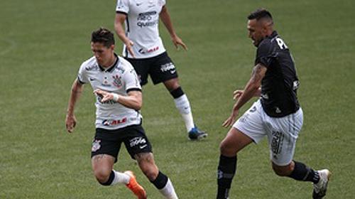 Mateus Vital mais uma vez foi destaque no Timão. Foto: Divulgação/Corinthians