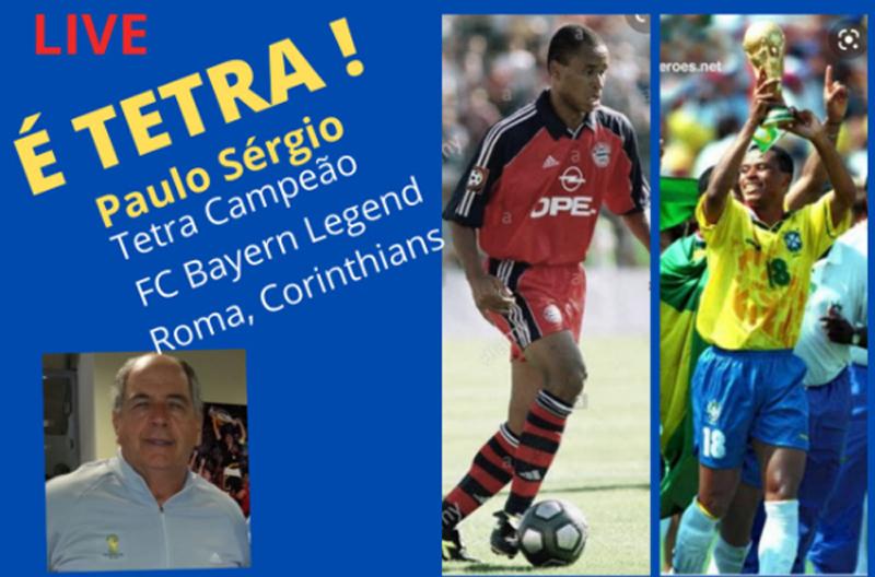 Ex-atacante começou no Corinthians e defendeu a seleção na Copa de 94