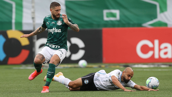 Alviverde dominou a partida no Allianz Parque. Foto: Cesar Greco/Palmeiras