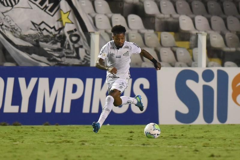 Camisa 11 santista não retornou em boas condições após Covid-19. Foto: Ivan Storti/Santos FC