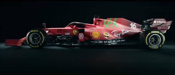 Carro vai para a pista na sexta-feira. Foto: Scuderia Ferrari