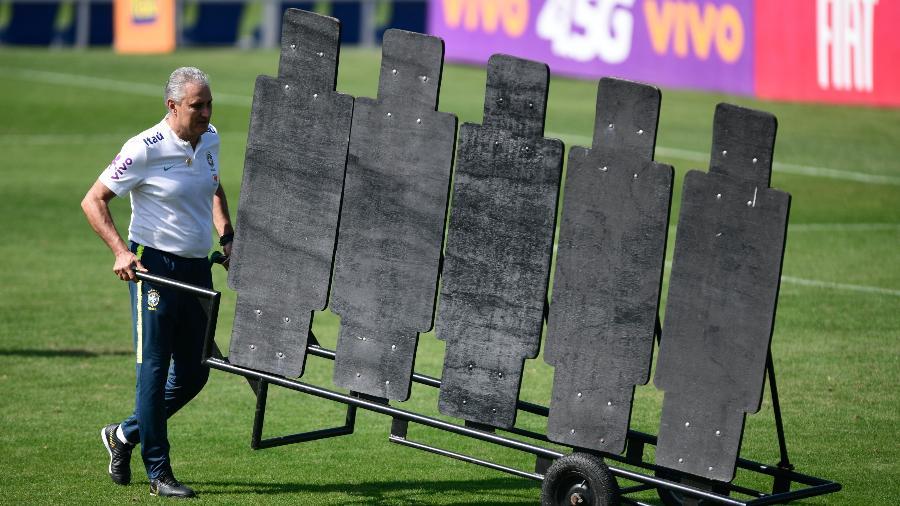 Tite testa resultados de médio prazo na gestão da seleção. Foto: Pedro Martins/Mowa Press