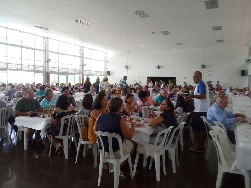 Almoço acontece no próximo domingo na sede social do clube. Foto: Marcos Júnior Michetti/Portal TT
