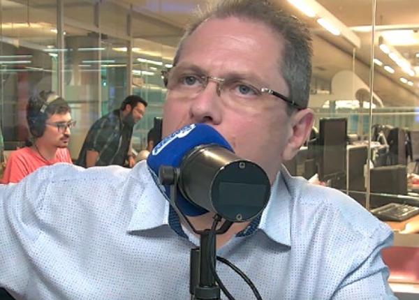 "Jean Carlo Gorinchteyn foi entrevistado no ""Domingo Esportivo"". Foto: Reprodução/BandNews"
