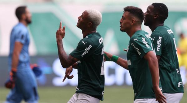 Gols aconteceram na segunda etapa. Foto: Divulgação/Palmeiras
