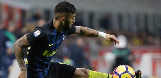 Gabigol entrou em campo poucas vezes pela Internazionale