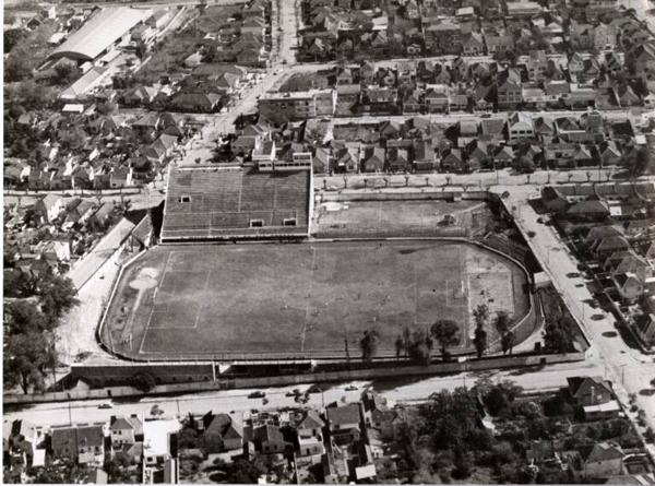 O antigo estádio ficava no bairro Menino Deus, em Porto Alegre. Foto: Divulgação