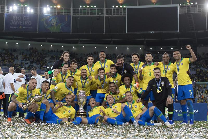 Seleção brasileira está no grupo com Venezuela, Peru, Colômbia e Equador. Foto: ucas Figueiredo/CBF