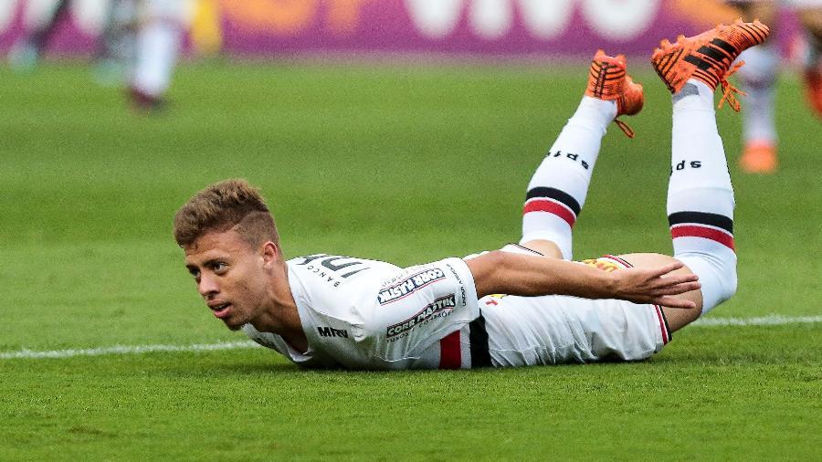 No Campeonato Português, Lucas Fernandes atuou em 29 partidas e marcou um gol. Foto: Ale Cabral/AGIF