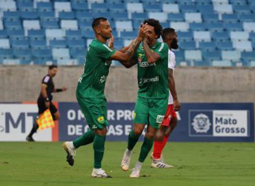 Equipe do Mato Grosso enfrenta o Sergipe. Foto: Divulgação/Cuiabá
