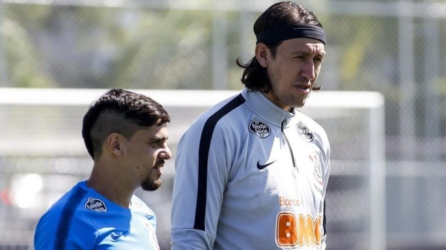 Cássio e Fagner, representantes do Corinthians na Seleção Brasileira, fazem parte da lista de desfalques do time