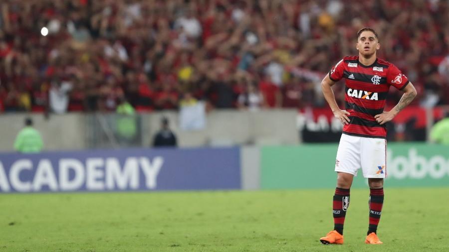 Cuellar está valorizado e espera proposta do exterior. Foto: Gilvan de Souza / Flamengo