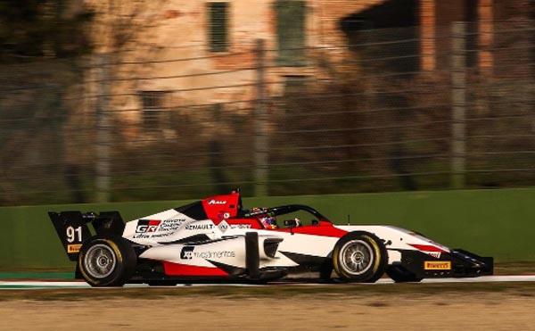 Piloto estará no grid da Fórmula Regional Europeia by Alpine. Foto: Divulgação