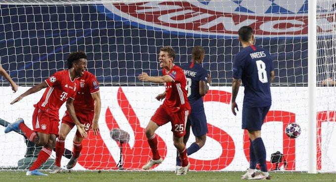 Alemães e franceses decidiram a última final da Champions League, com vitória do Bayern. Foto: Twitter/Uefa
