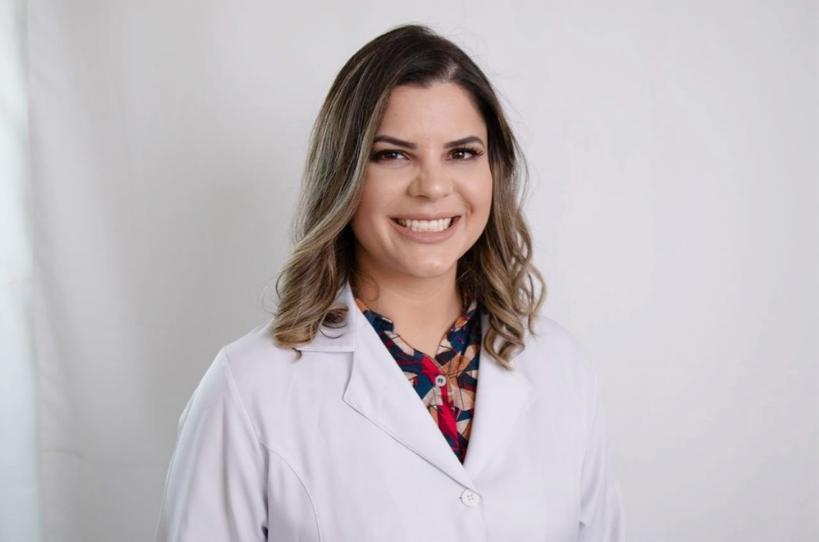 Dra. Camila Ahrens trabalha no Hospital Marcelino Champagnat. Foto: Divulgação