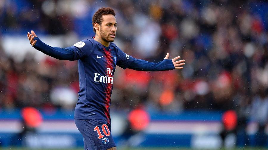 Neymar fica fora de seleção da história do PSG feita por internautas e jornalistas. Foto: Aurelien Meunier/PSG/Getty Images