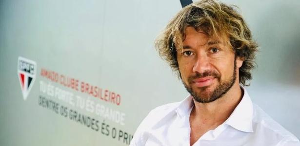 Ex-jogador e hoje dirigente do São Paulo, Lugano falou sobre a situação de Nenê. Foto: saopaulofc.net