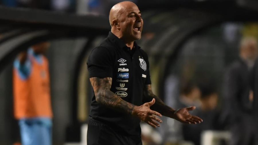 Santos perdeu para o Atlético e ficou fora da Copa do Brasil. Foto: Ivan Storti/Santos FC