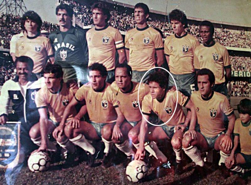 O baixinho, que na época defendia o Vasco, atuou em amistoso disputado no Couto Pereira