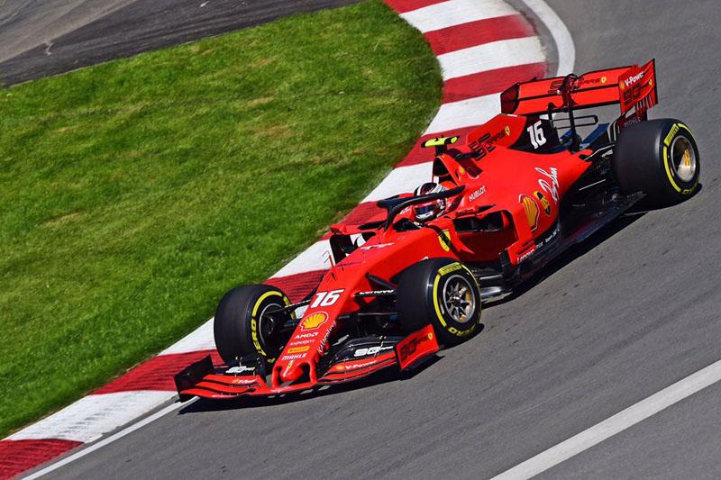 Monegasco superou Vettel no circuito canadense. Foto: Scuderia Ferrari