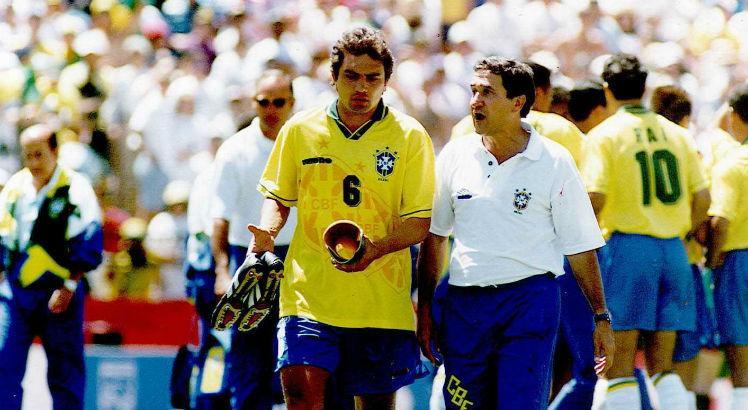 Treinador relembrou a convocação do lateral para a Copa de 94. Foto: Divulgação