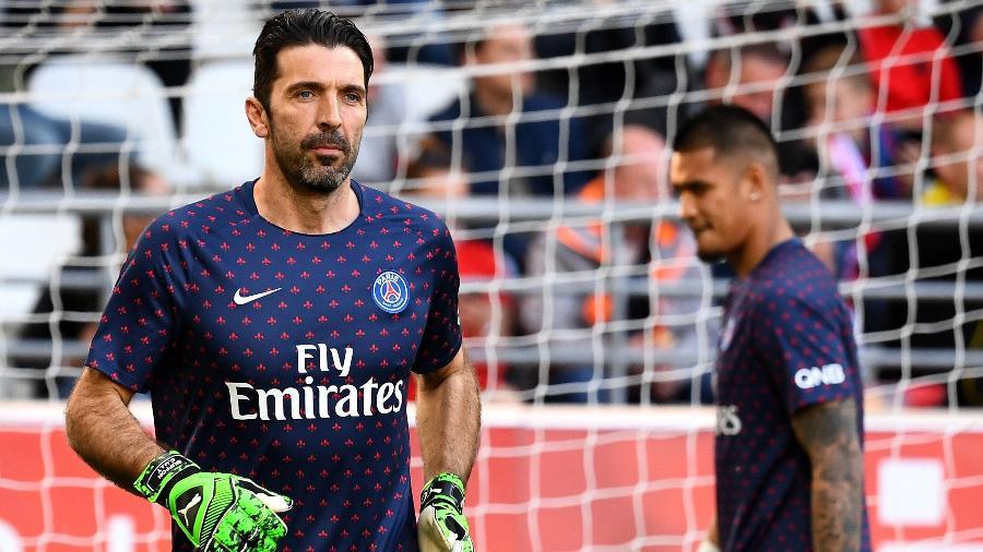Goleiro italiano não permanecerá no PSG. Foto: FRANCK FIFE / AFP
