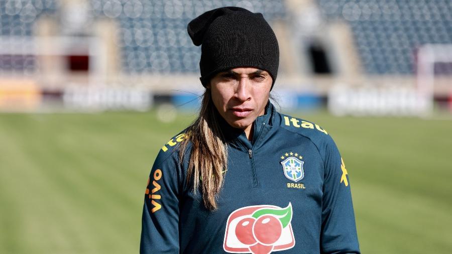 Marta ainda se recupera de uma lesão na coxa esquerda