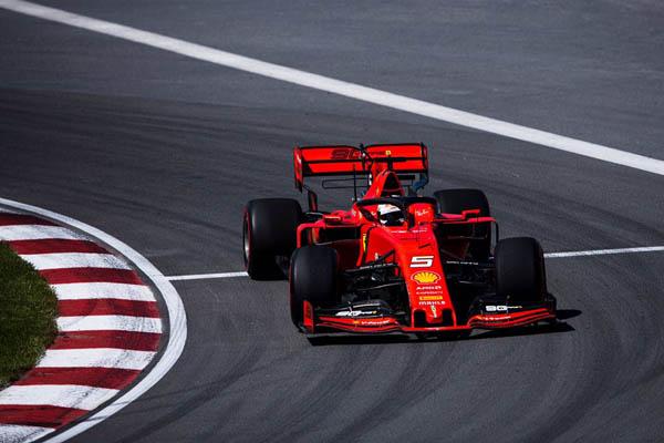 Alemão superou Leclerc antes da classificação em Montreal. Foto: Scuderia Ferrari