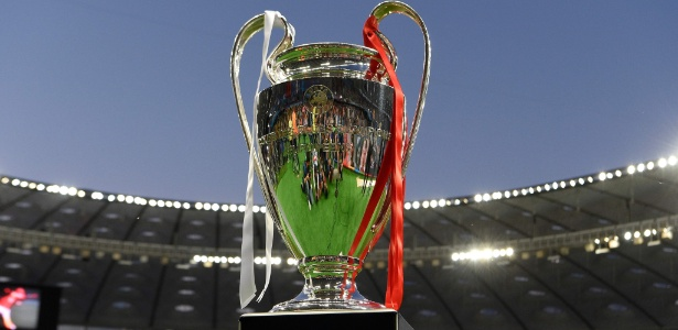 Taça atual da Liga dos Campeões. Foto: Lluis Gene/AFP Photo